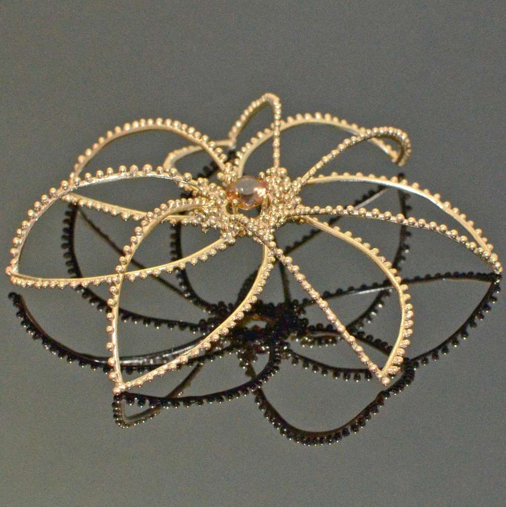 Byzantine Rosette Brooch (side view).jpg