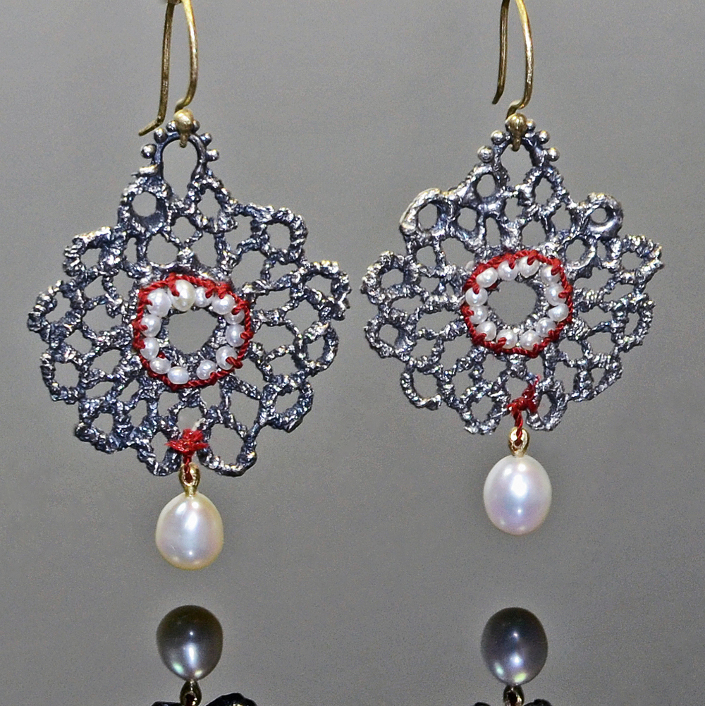 Silver Pearl Lace Earrings.jpg