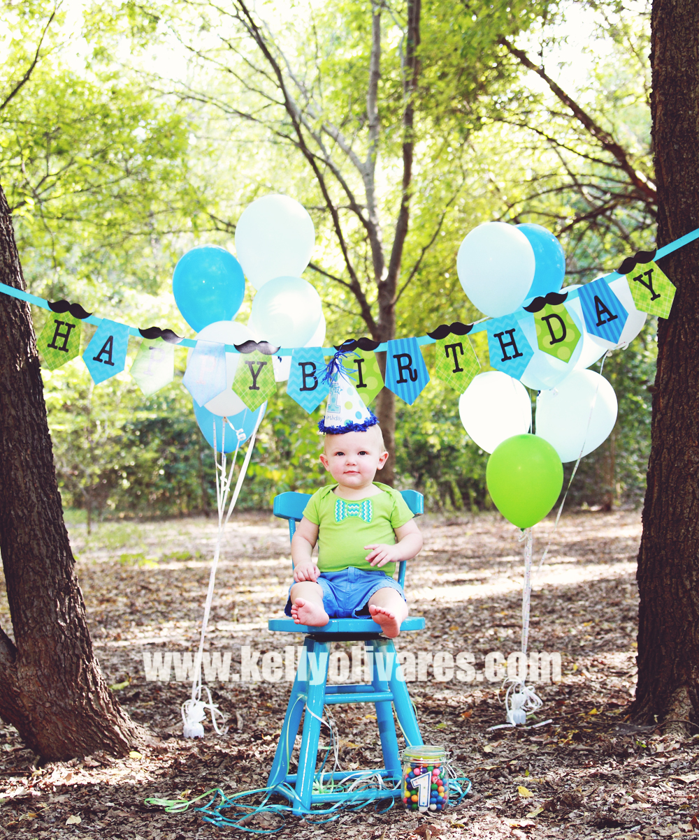 Kelly Olivares Photography First Birthday Photography