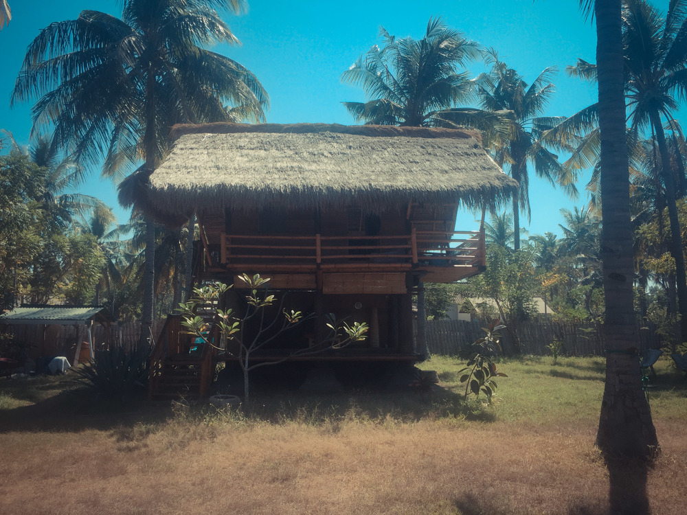 Treehouse on Gili Meno island
