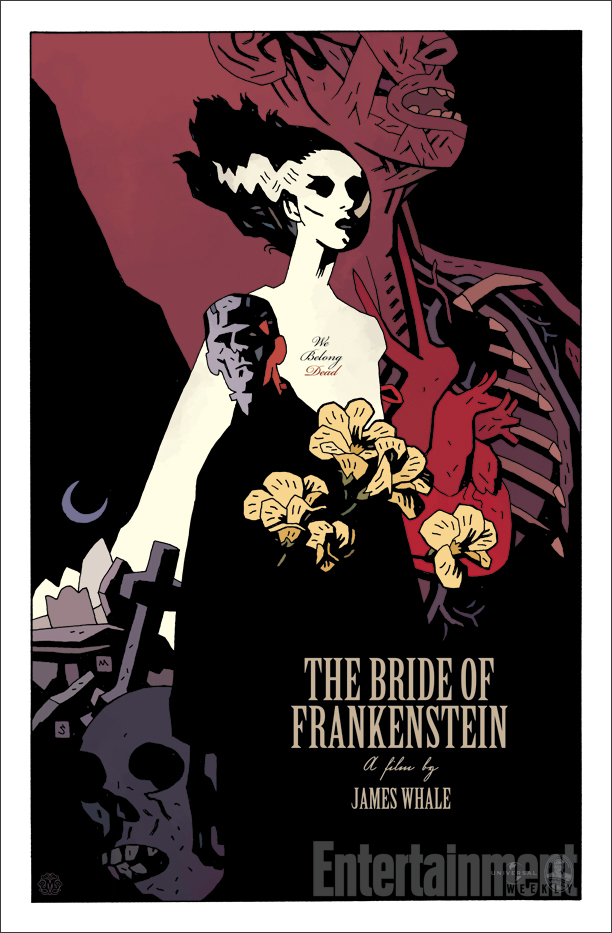 Mike Mignola's take on the Bride.