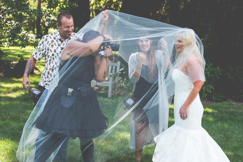 You will be up close and personal with your photographers - this is why you should love them!