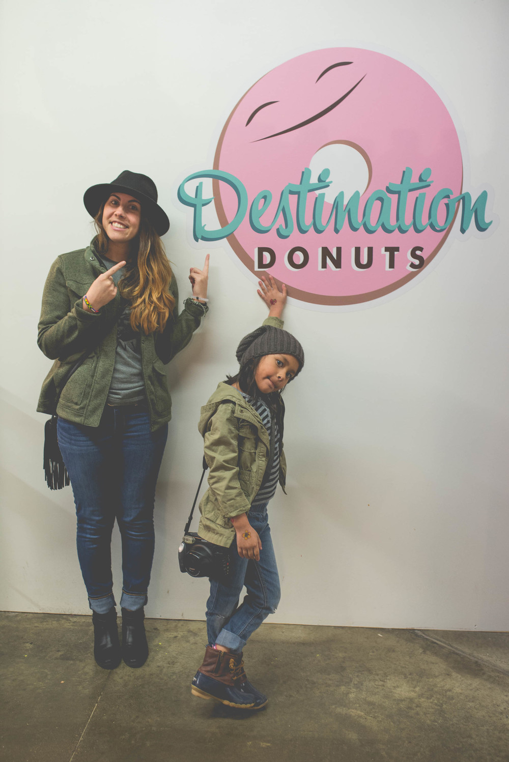One of our favorite stops at the north market (Destination Donuts)...but they were closed when we got there this time!! NOOOOOOOO.