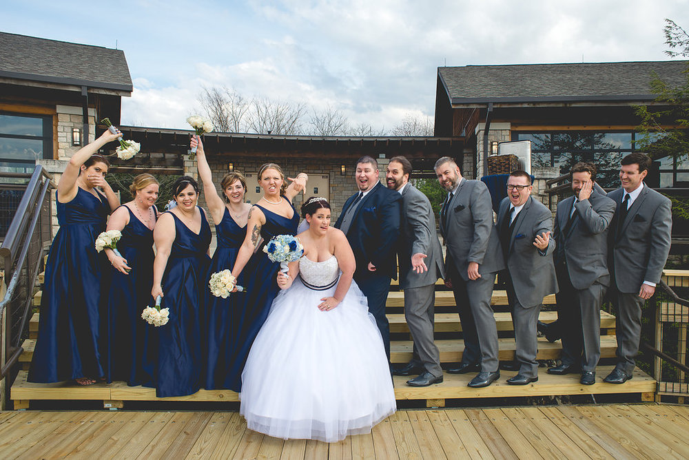 Chris+Monica Bridal Party & family formals