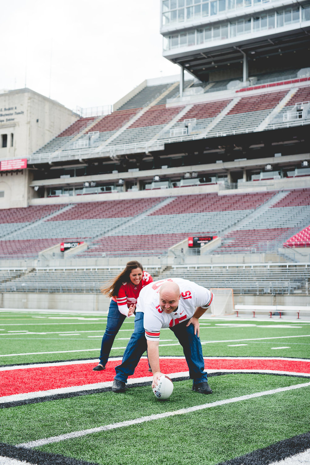 Brett Loves Elle Photography, Columbus Wedding Photography, OSU Stadium