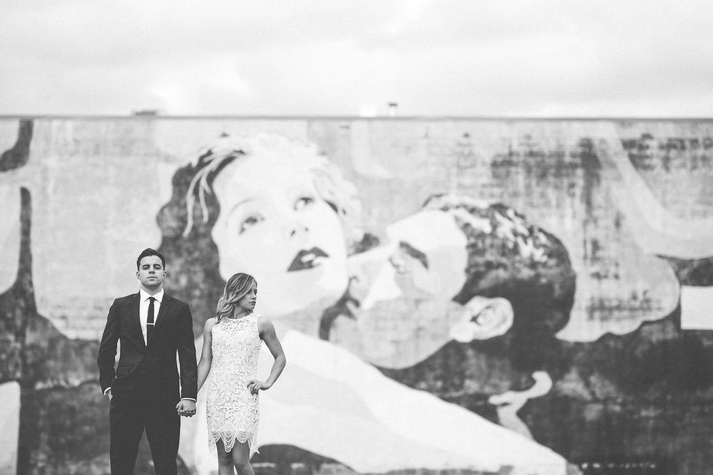 Tari and Kevin Engagement Session! Downtown Columbus Ohio