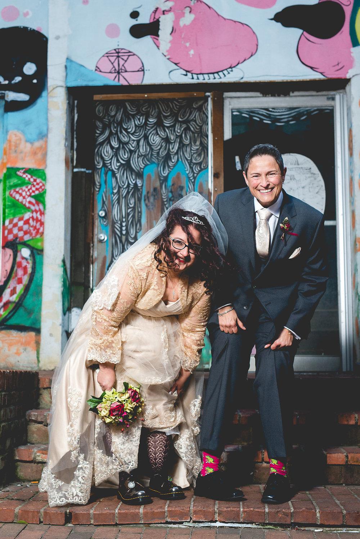 Kara Loves Rose | Wedding Day Previews | The Vault Columbus | #L