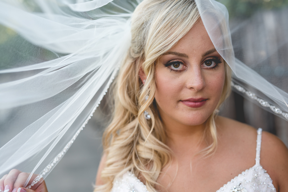 Bridal Beauty Shot. Heritage Golf Club Summer Wedding in Hilliard, Ohio.