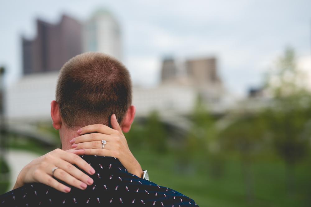 Brett Loves Elle Photography, Columbus Wedding Photographer, Columbus Wedding Photography, Scioto Mile