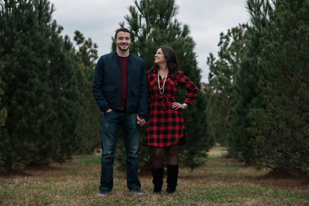Stephanie and Drew Christmas Session