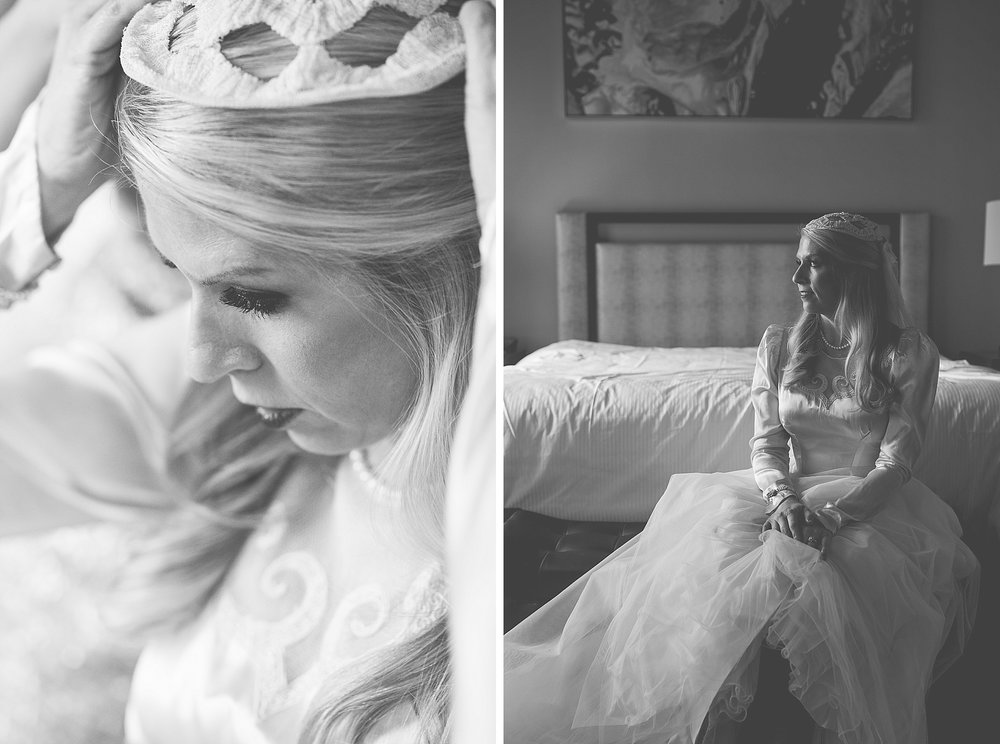 Laura + Brad Wedding Day Previews