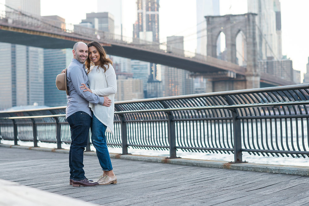 Liz+Brian NYC Engagement Session