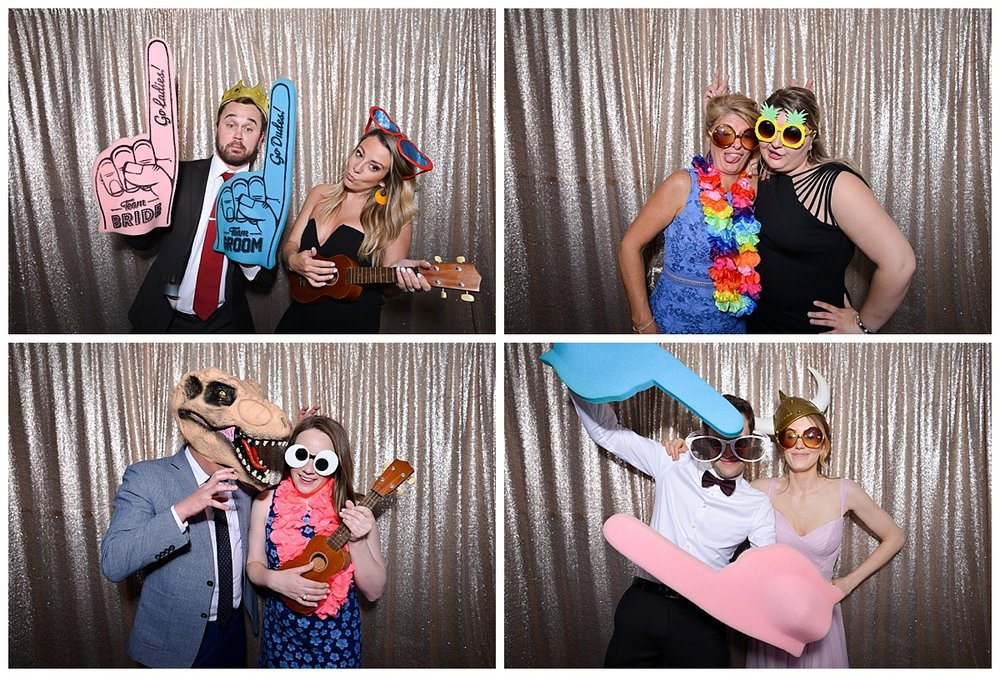 Kelly + Dan | Wedding Day | Aloha Booth