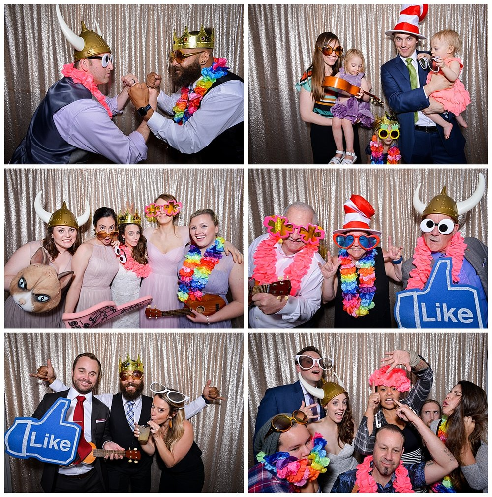 Kelly + Dan | Wedding Day | Aloha Booth