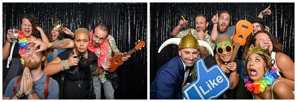 Liz + Brian | Wedding Day | Aloha Booth