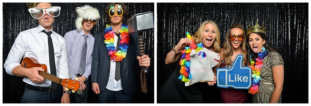 Liz + Brian | Wedding Day | Aloha Booth