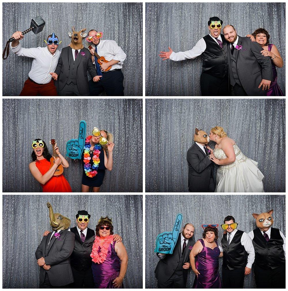 Amanda + Jonathan| Wedding Day | Aloha Booth