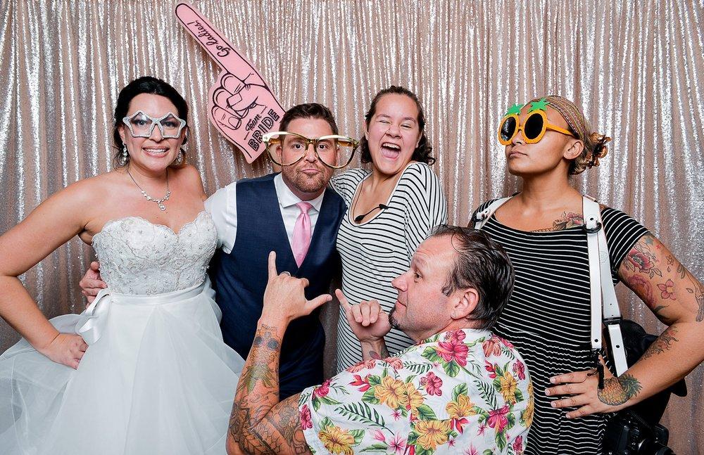 Krista + Alex | Wedding Day | Aloha Booth | Wedding Day | Aloha