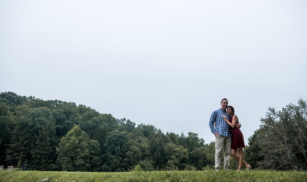 Heather + Brian Engagement Previews
