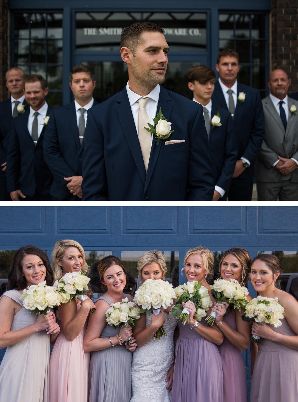 Columbus Wedding Photographer, Columbus Wedding Photography, Groomsmen, Brett Loves Elle Photography