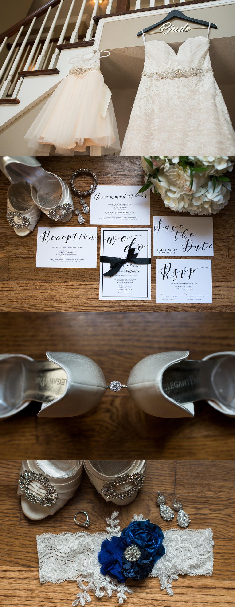 Columbus Wedding Photographers, Brett Loves Elle Photography, Wedding Details