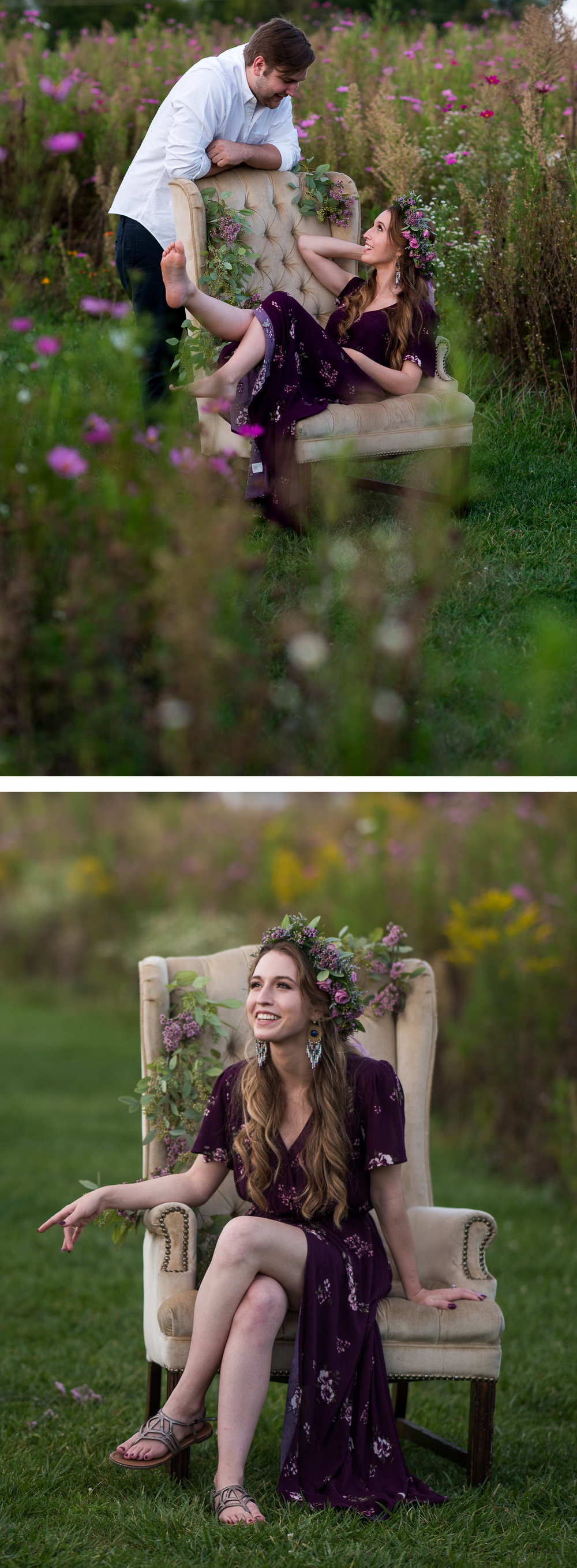 Brett Loves Elle, Columbus Wedding Photographers, Columbus Engagement Session
