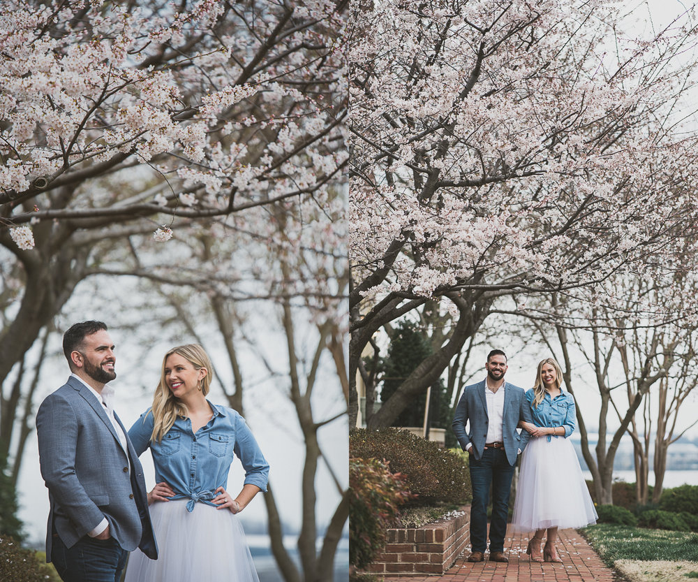 Cherry Blossom Engagement Session, Columbus Wedding Photographer, Columbus Engagement Photographer