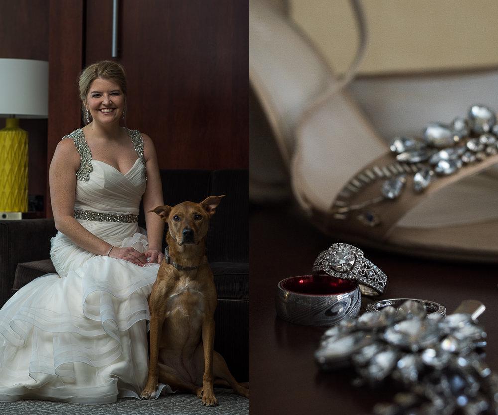 Columbus Wedding Photographers, Brett Loves Elle Photography, Winter Wedding at St. Charles Prep