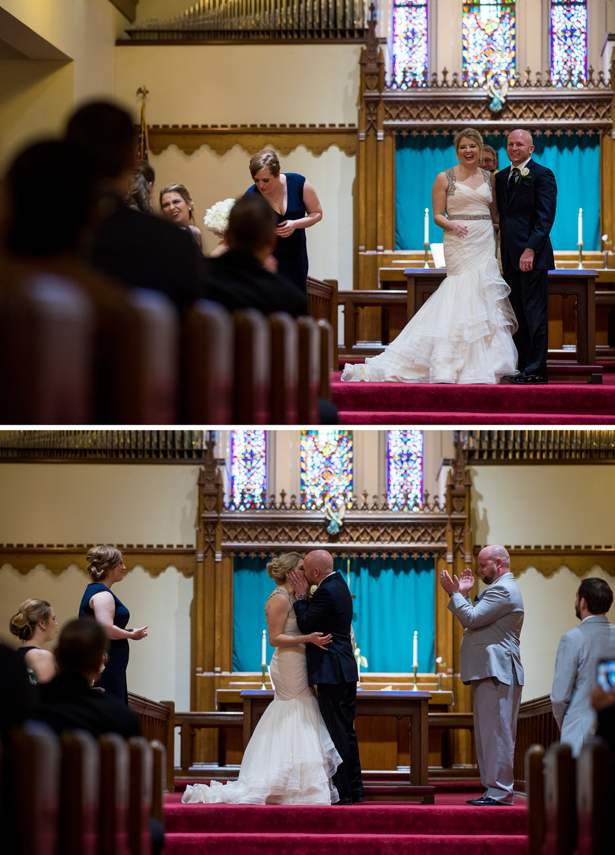 Columbus Wedding Photographers, Brett Loves Elle Photography, Church Ceremony