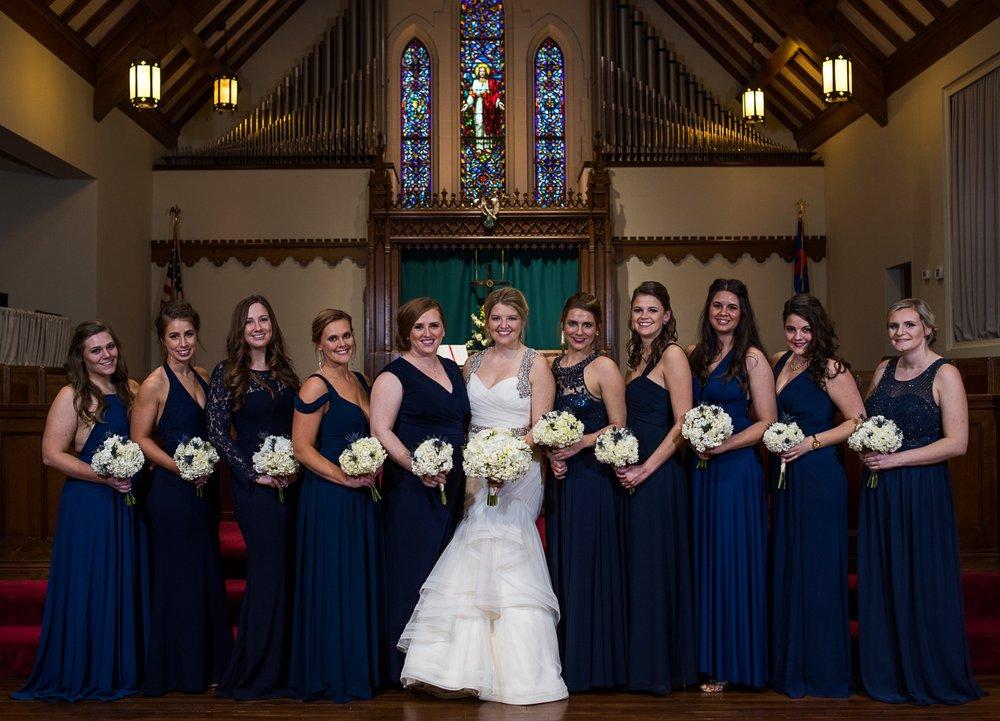 Columbus Wedding Photographers, Brett Loves Elle Photography, Bridesmaids
