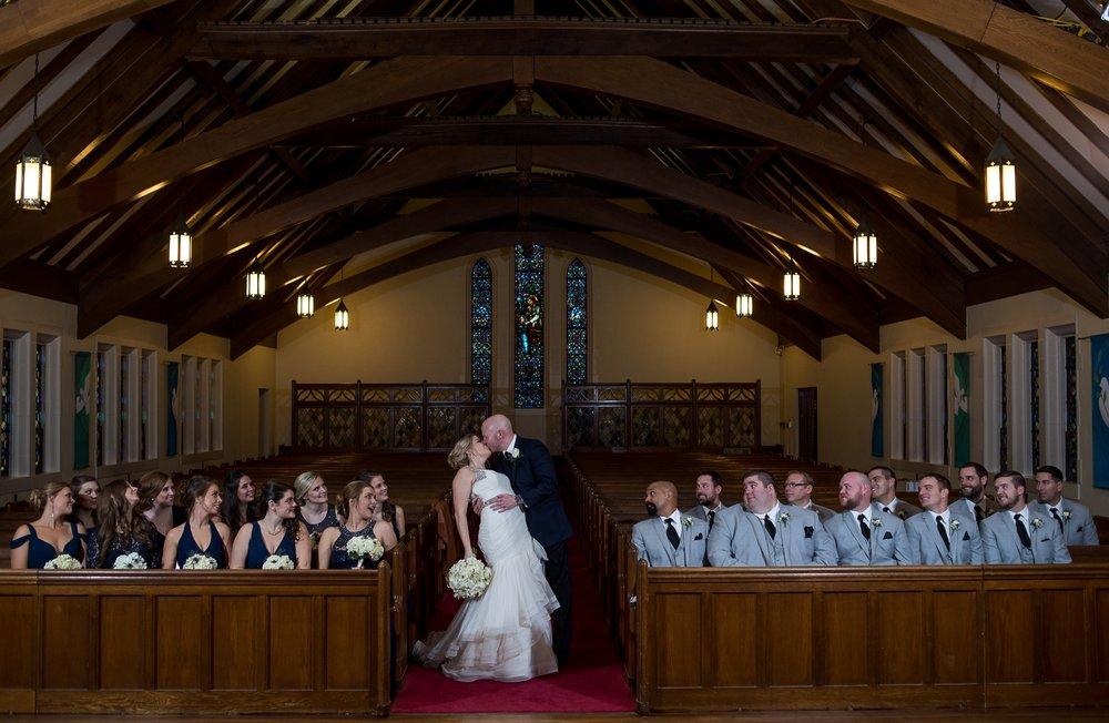 Columbus Wedding Photographers, Brett Loves Elle Photography, Downtown Church Wedding