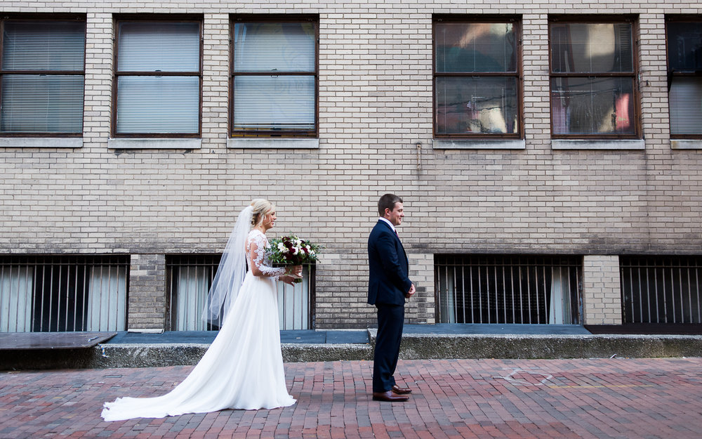 Brett Loves Elle Photography, Columbus Wedding Photographer, The Vault, First Looks