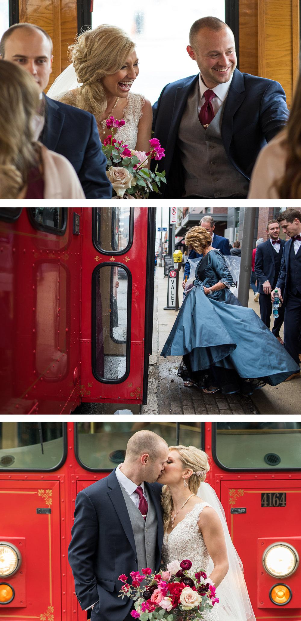 Brett Loves Elle, Columbus Wedding Photographers, Columbus Wedding Photography, Ohio Wedding, Columbus Trolley Company
