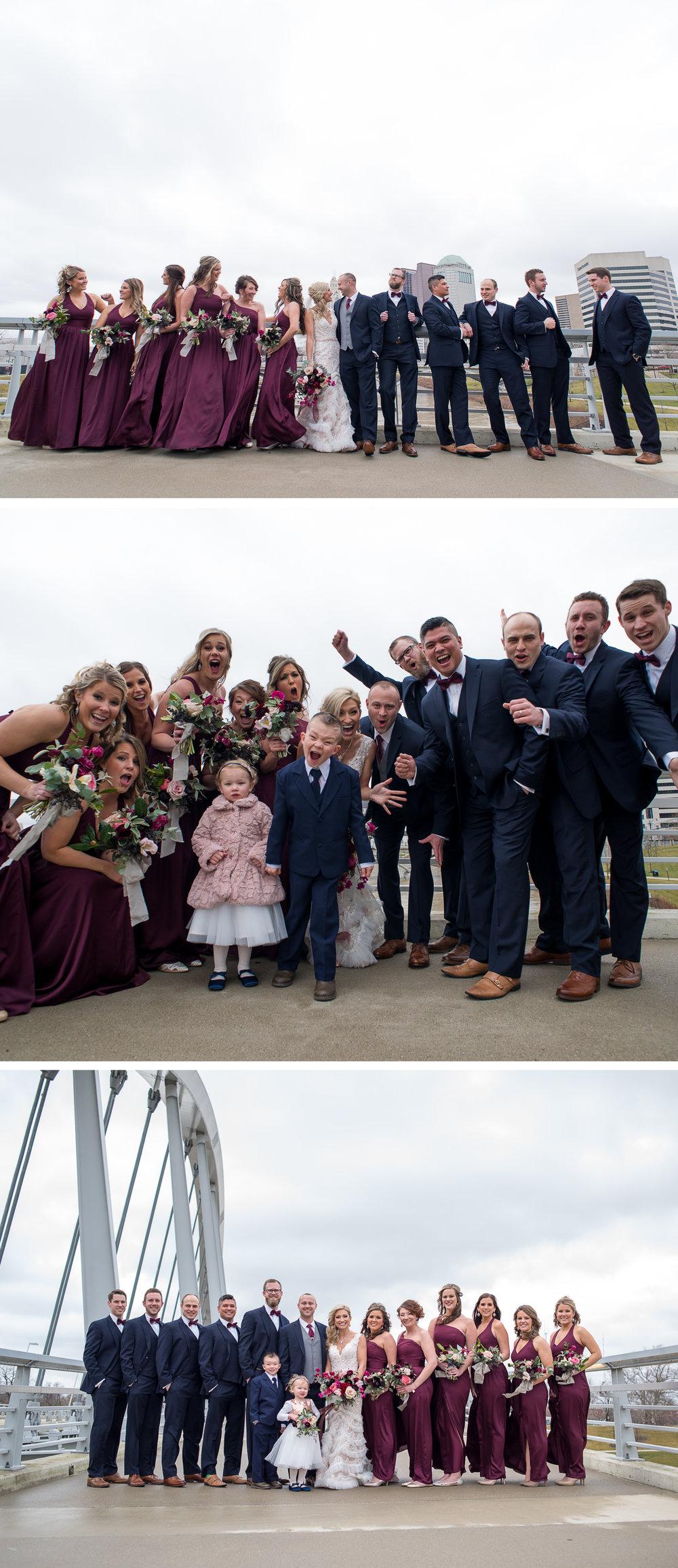 Brett Loves Elle, Columbus Wedding Photographers, Columbus Wedding Photography, Ohio Wedding, Vintage Glam Wedding Party