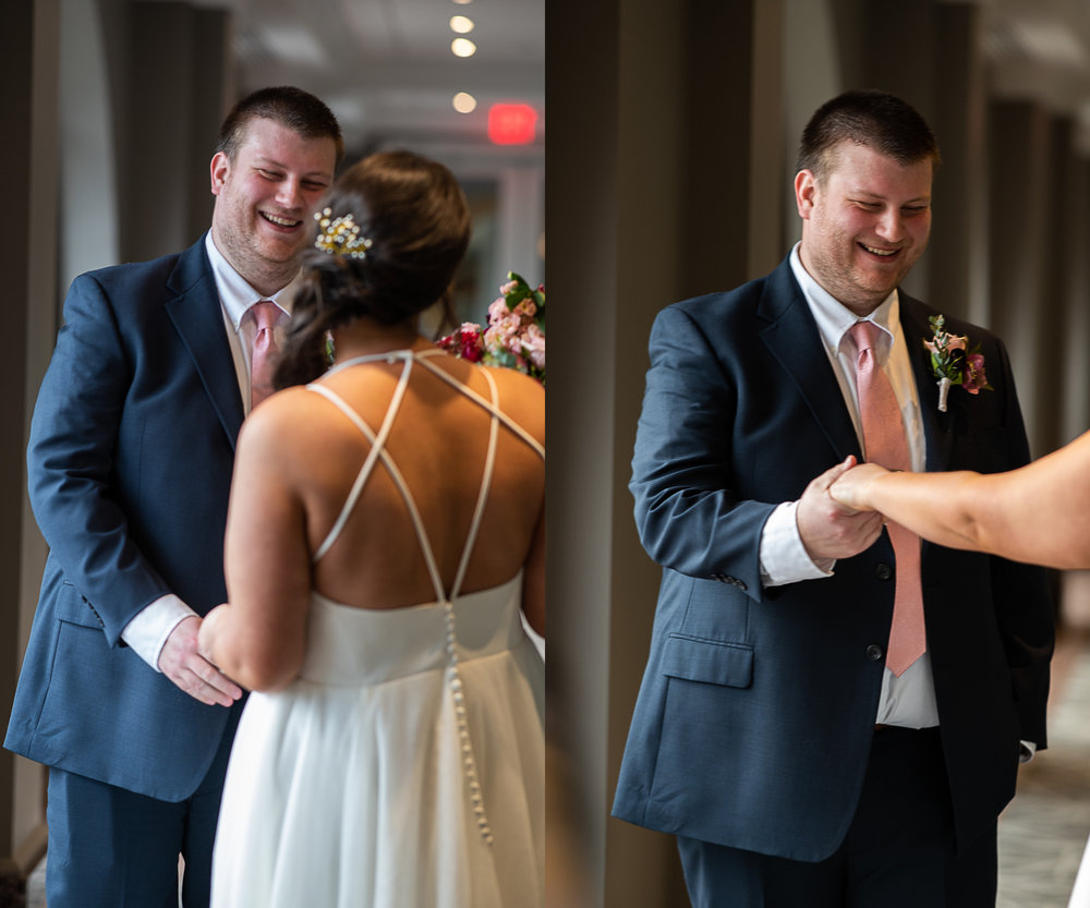Brett Loves Elle Photography, Columbus Wedding Photographers, Ohio Wedding Photography, Wedding Day First Look