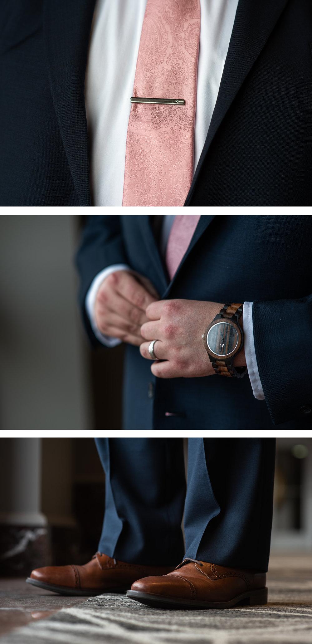 Brett Loves Elle Photography, Columbus Wedding Photographers, Ohio Wedding Photography, Groom Detail Portrait