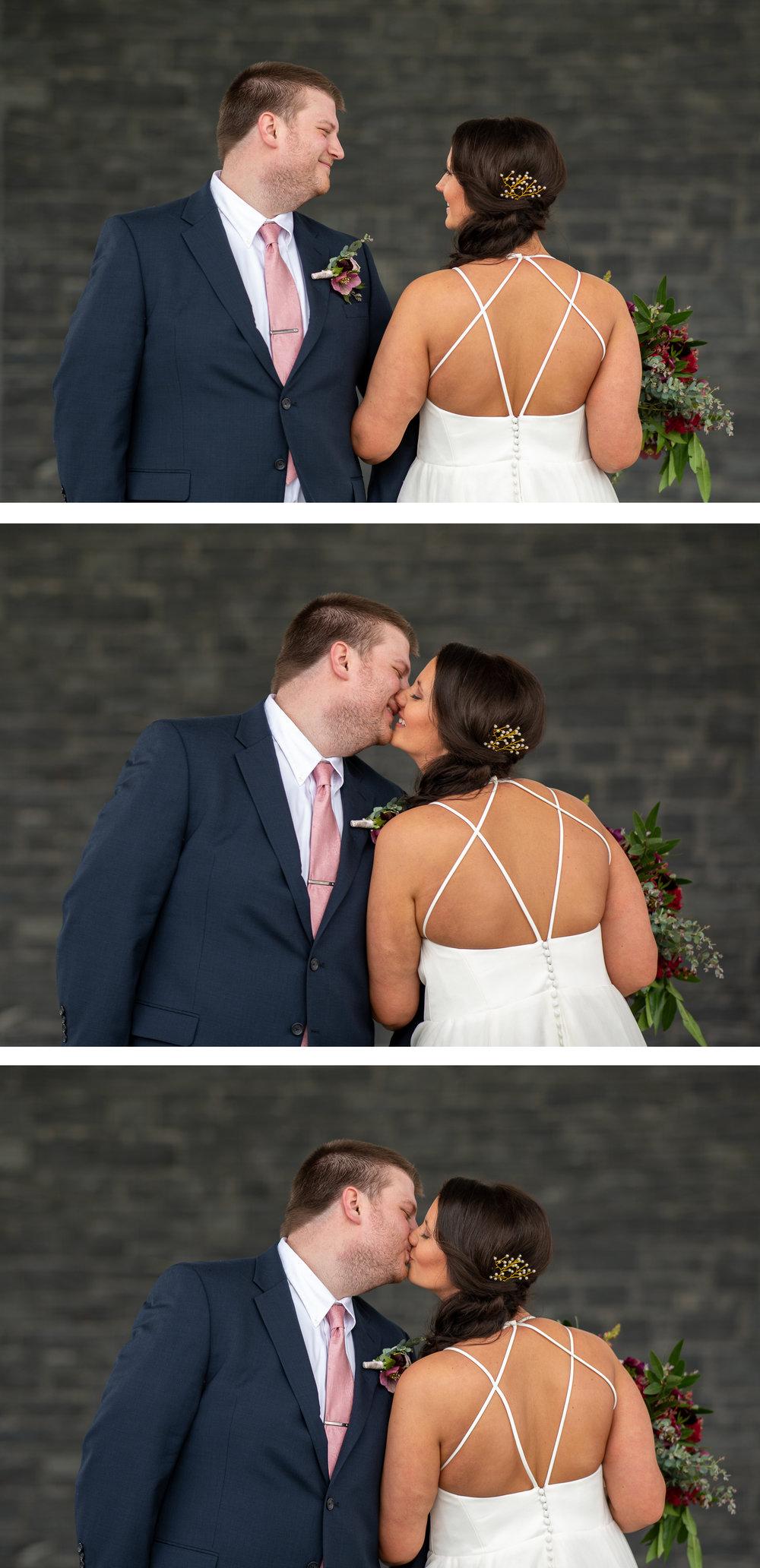 Brett Loves Elle Photography, Columbus Wedding Photographers, Ohio Wedding Photography, Wedding Day Bride and Groom Portrait