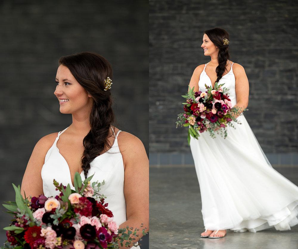 Brett Loves Elle Photography, Columbus Wedding Photographers, Ohio Wedding Photography, Wedding Day Bridal Portrait