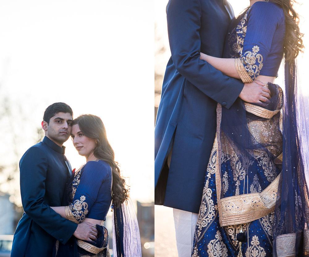 Brett Loves Elle Photography, Columbus Engagement Session, Columbus Wedding Photographers, Indian Inspired Engagement Session