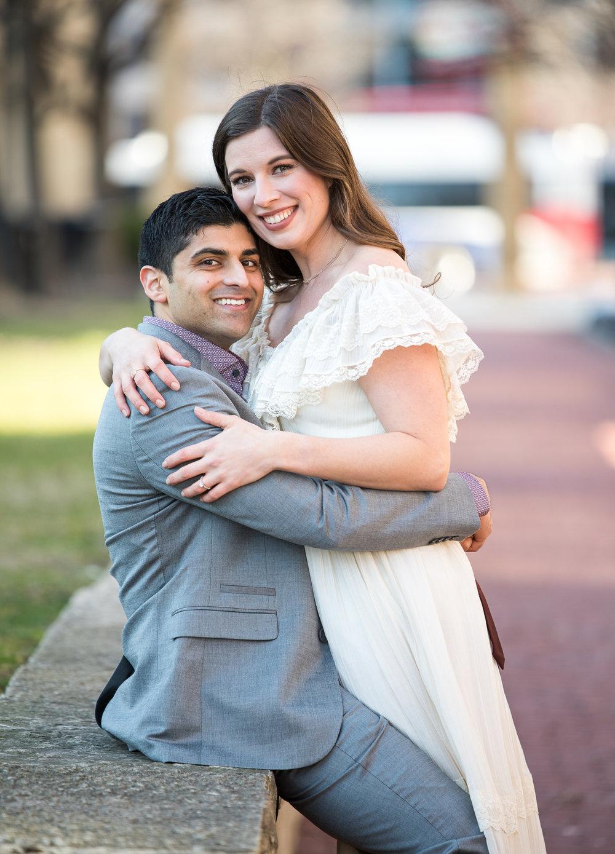 Brett Loves Elle Photography, Columbus Engagement Session, Columbus Wedding Photographers, Arena District