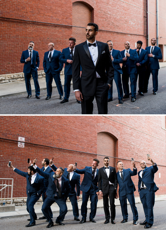 Brett Loves Elle Photography, Columbus Wedding Photographers, The Westin Indian Wedding, Groomsmen