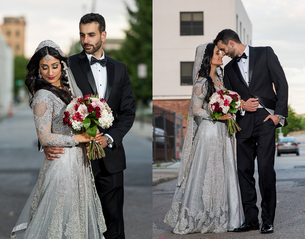 Brett Loves Elle Photography, Columbus Wedding Photographers, The Westin Indian Wedding, Bride and Groom Portraits