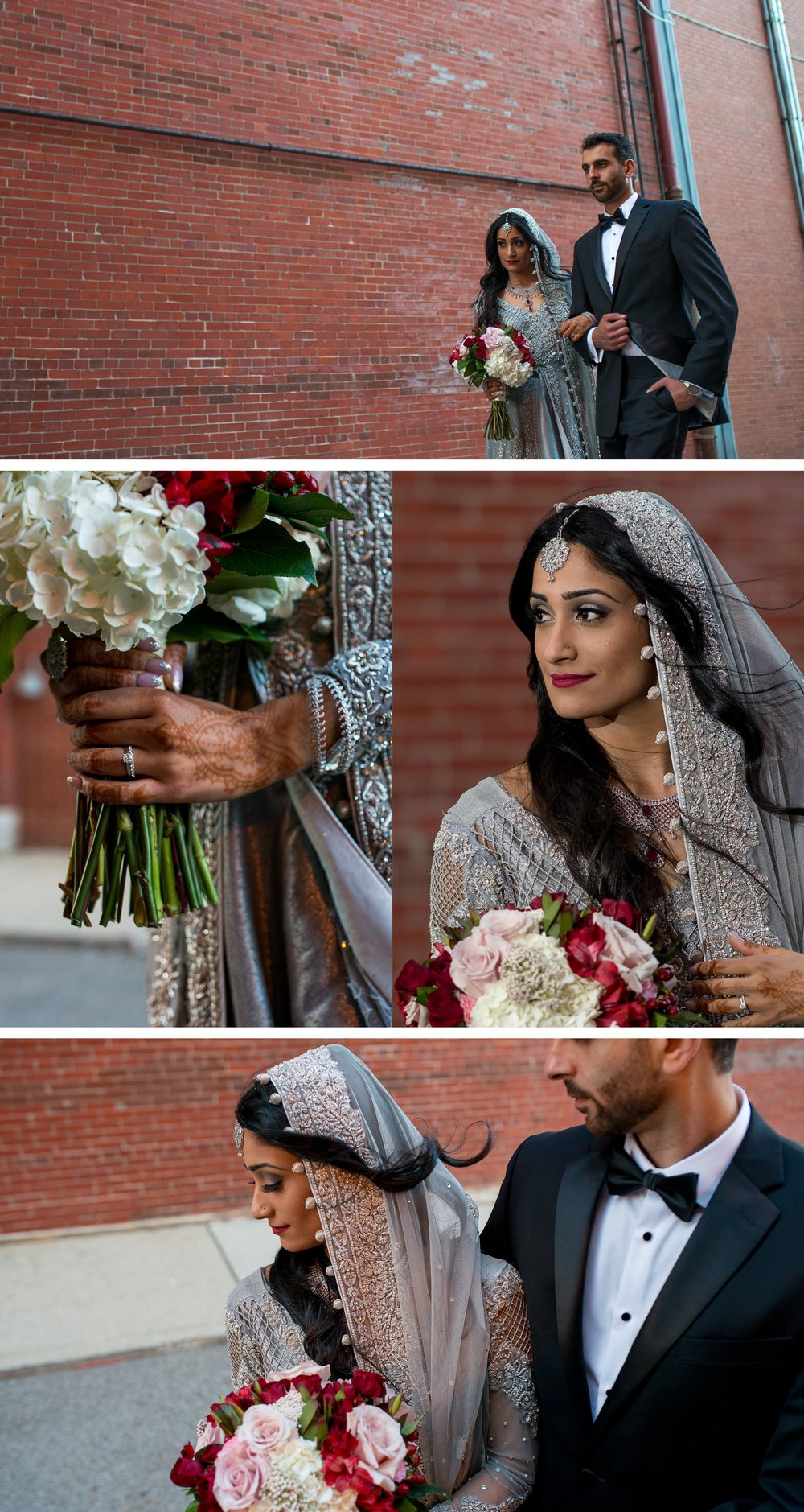 Brett Loves Elle Photography, Columbus Wedding Photographers, The Westin Indian Wedding, Bride and Groom Portraits