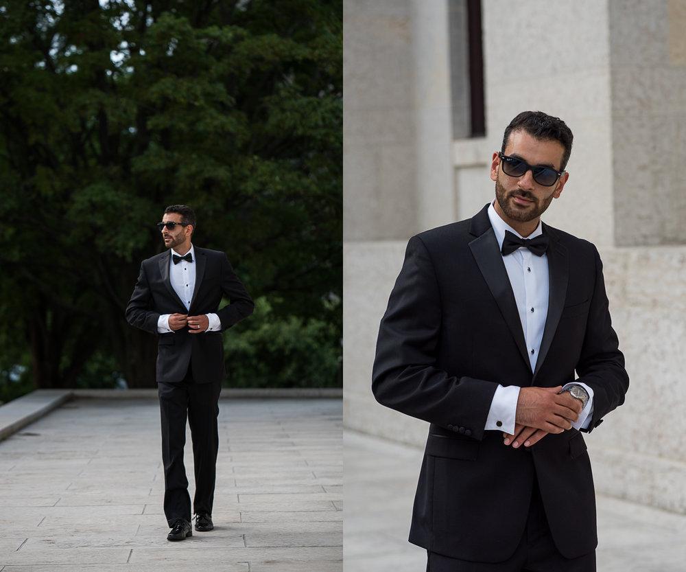 Brett Loves Elle Photography, Columbus Wedding Photographers, High Fashion Palestinian Groom