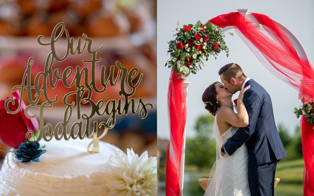 Brett Loves Elle Photography, Columbus Wedding Photographers, Ohio Wedding Photography, Wedding Day Ceremony