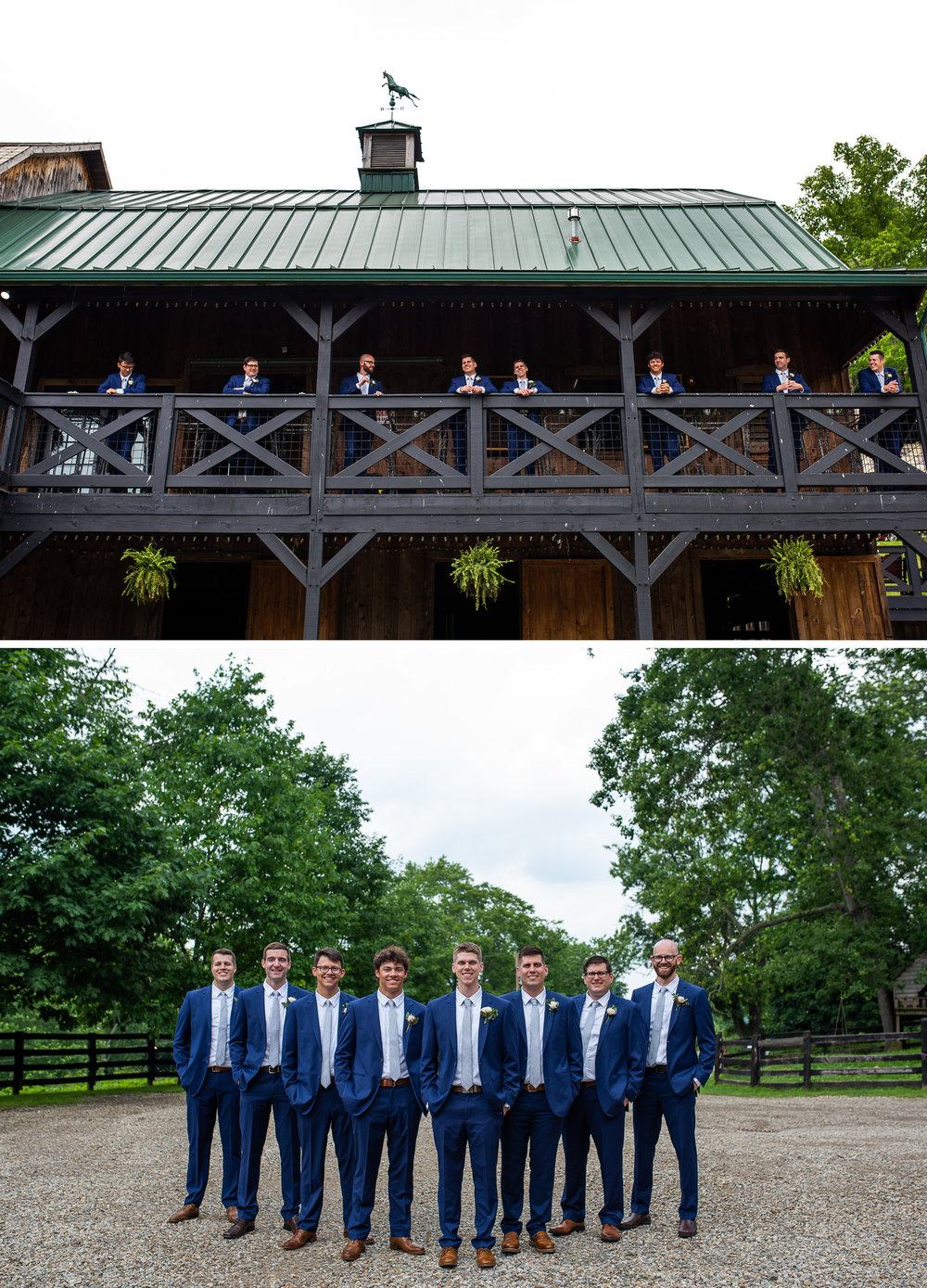 Brett Loves Elle Photography, Columbus Wedding Photographers, Ohio Wedding Photography, Wedding Day Groomsmen Portrait