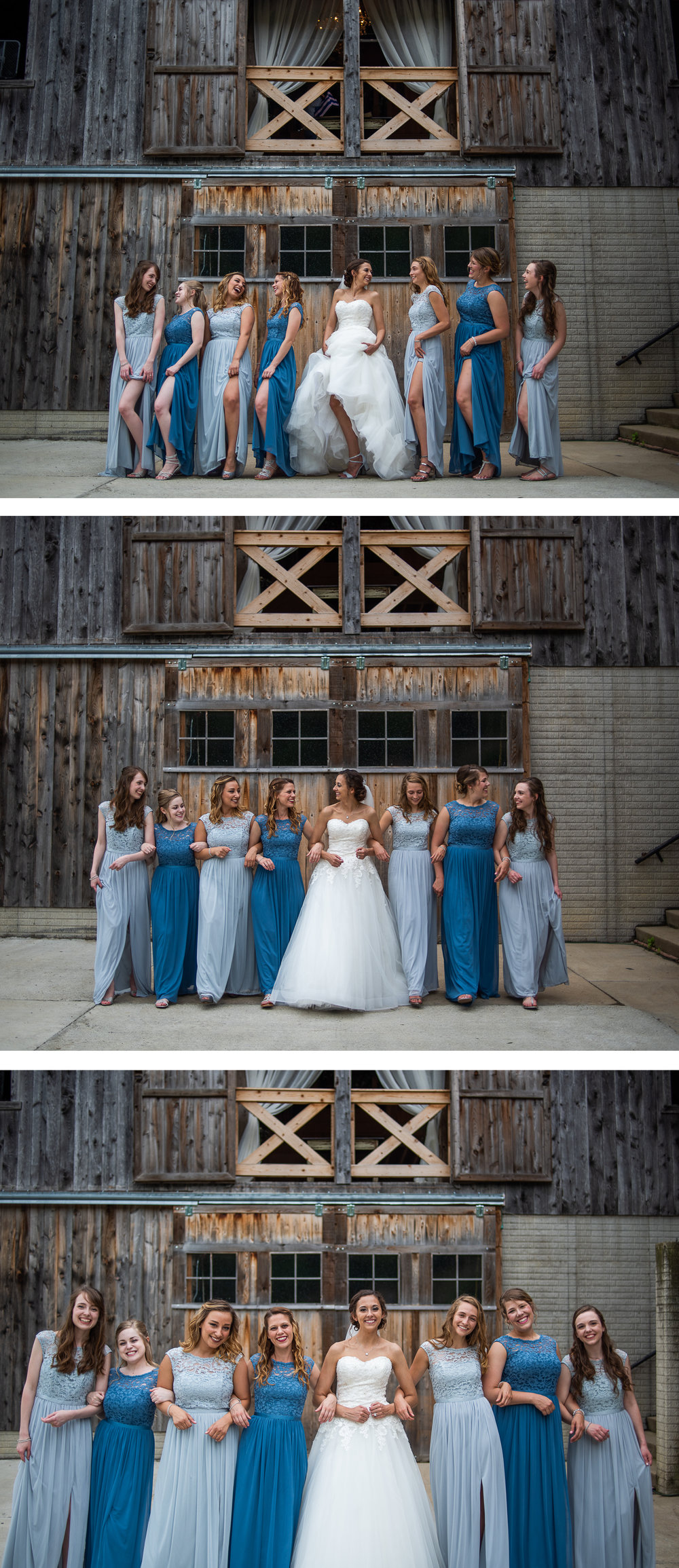 Brett Loves Elle Photography, Columbus Wedding Photographers, Ohio Wedding Photography, Wedding Day Bridesmaid Portrait
