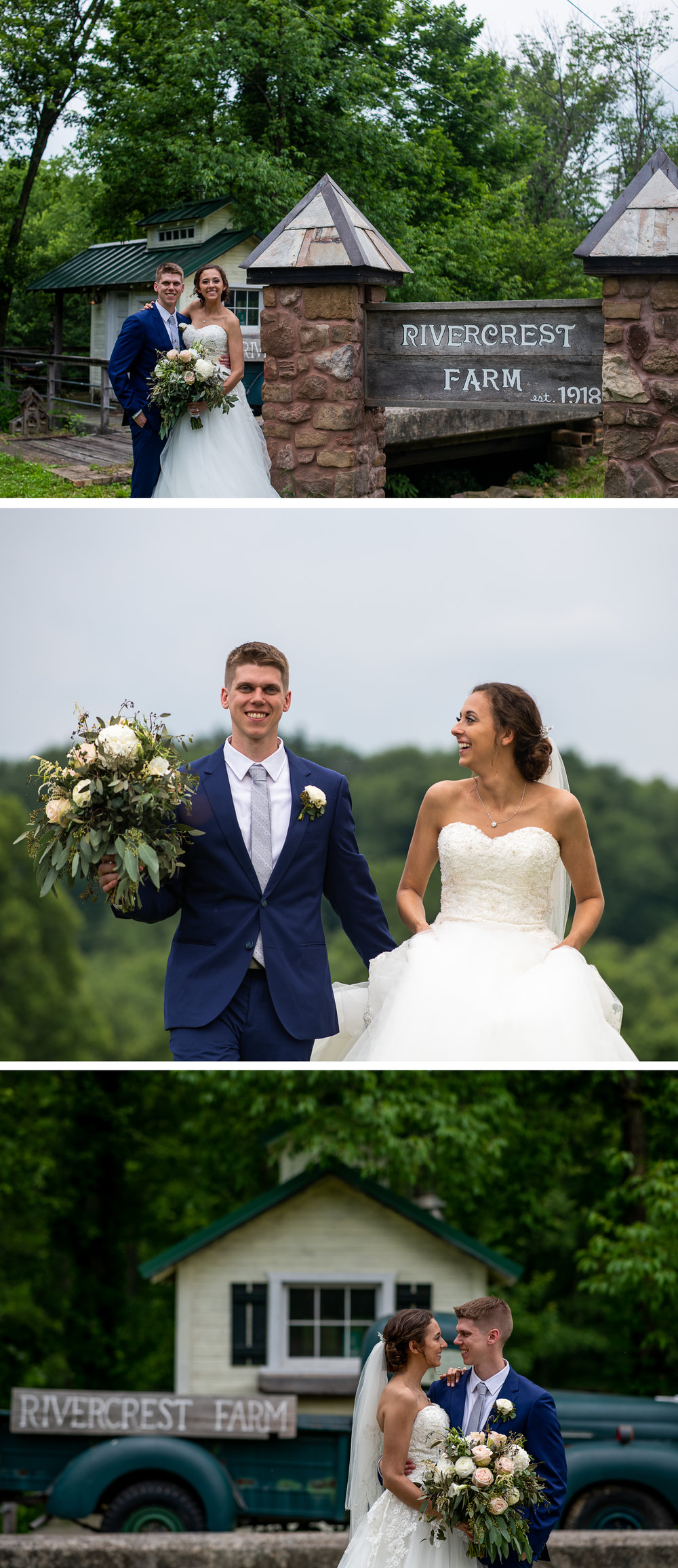 Brett Loves Elle Photography, Columbus Wedding Photographers, Ohio Wedding Photography, Wedding Day Bride and Groom Portrait