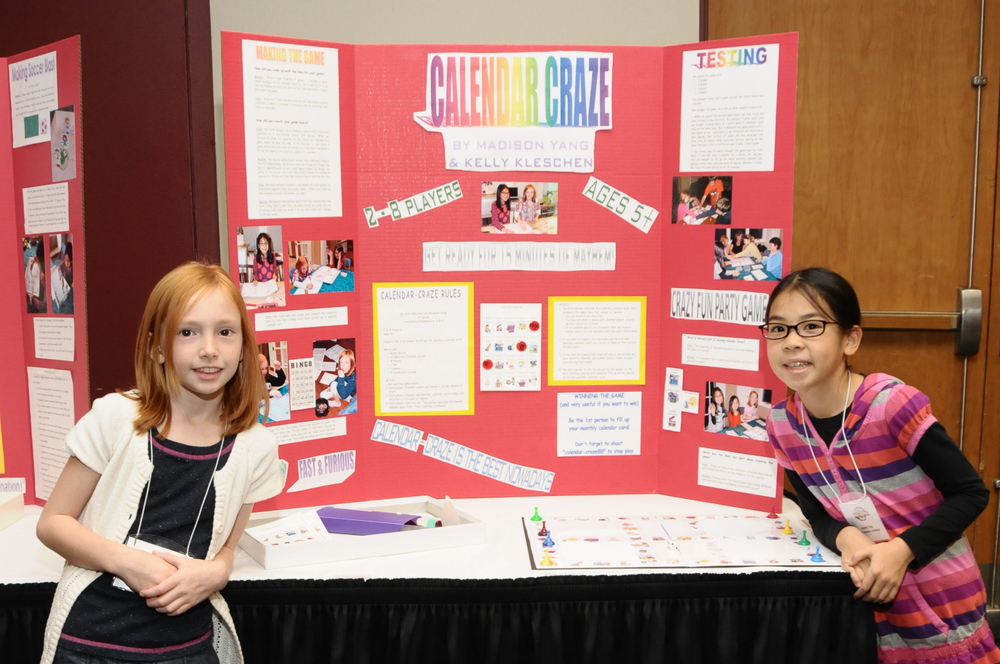 Young Inventor Challenge Participants at Chicago Toy and Game Fair