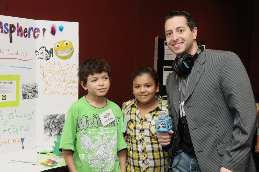 Got Invention Radio speaks to Young Inventor Challenge at Chicago Toy and Game Fair